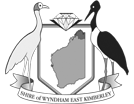 Logo: Shire of Wyndham and East Kimberley